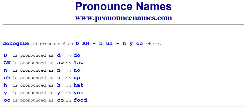تلفظ نام صحیح Emma Donoghue